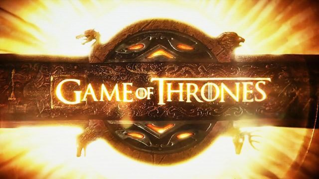 Game of Thrones logo, Image via HBO