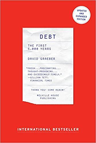Debt By David Graeber