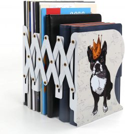 Adjustable Metal Bookends or Book Racks for Kids by SubClap - best bookends for kids
