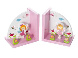 Themed Fairy Bookends for Girls Nursery or Bedroom - best backends for kids