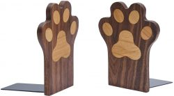 Wood Paws Bookends by Pandapark - best backend for kids