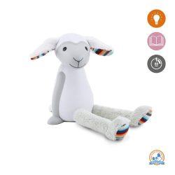 Zazu Kids Portable Reading Night Light - Fin The Sheep